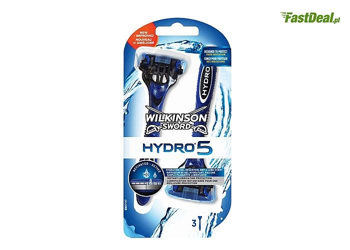 Maszynka do golenia Wilkinson Sword Hydro 5! 3 sztuki w zestawie!