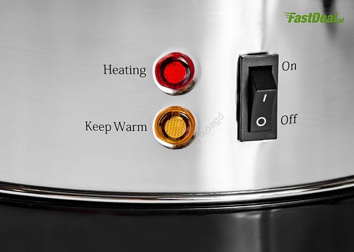 Nowoczesne urządzenie podtrzymujące temperaturę marki Camry