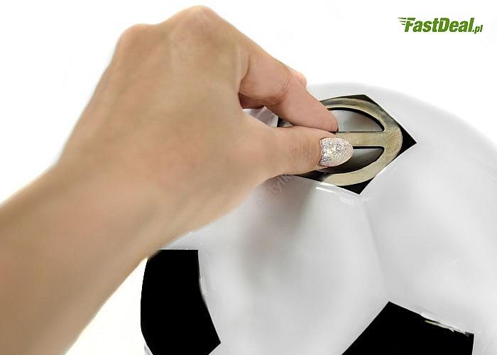 Solidne urządzenie do beztłuszczowego prażenia popcornu w kształcie piłki