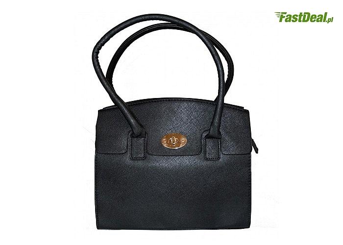 Wizytowa torebka skórzana dla eleganckiej i modnej kobiety