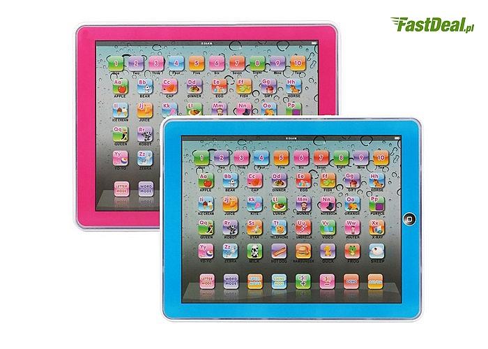 Połącz przyjemne z pożytecznym! Tablet edukacyjny dla dziecka do nauki języka angielskiego