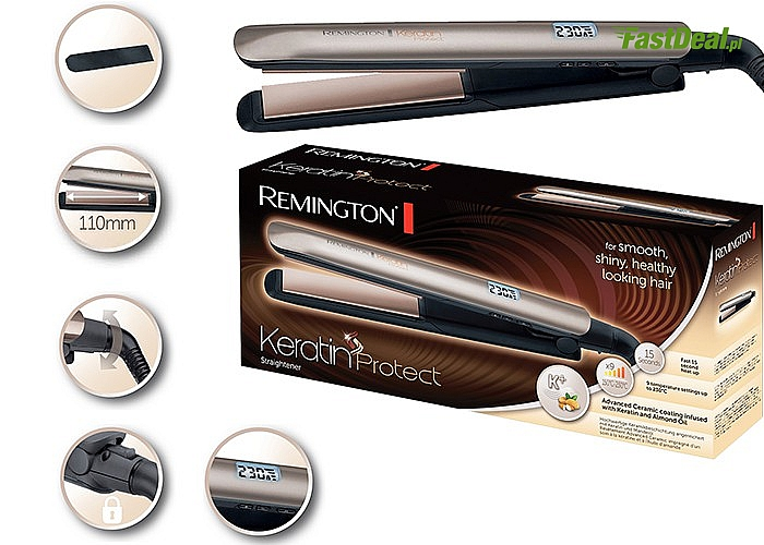 Prostownica Remington S8540 Keratin Protect