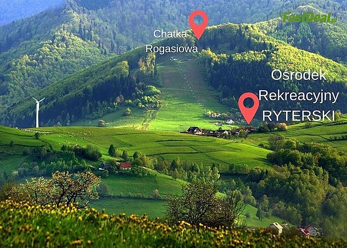 Ośrodek Rekreacyjny RYTERSKI zaprasza na rajski pobyt w Beskidach! Beskid Sądecki! Wyżywienie!