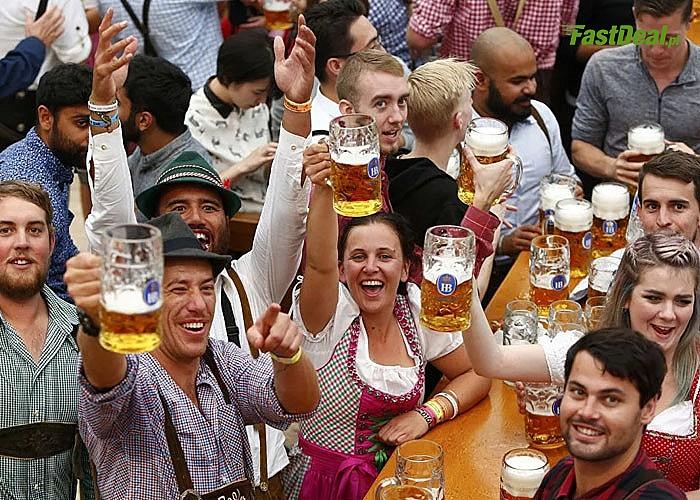 Niemcy Oktoberfest! Przejazd autokarem klasy PREMIUM! Zwiedzanie miasta! Uczestnictwo w festiwalu piwa! Opieka pilota!