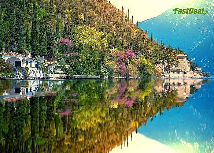 Jezioro Garda w samym sercu Alp! Autokar klasy LUX! Śniadania! 4 noclegi! Opieka pilota!