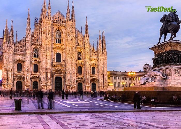 Black Friday - Mediolan czy Turyn? 4-dniowy wyjazd! Autokar klasy PREMIUM! Śniadania! Opieka pilota! Nocleg!