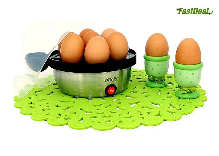 Bardzo praktyczny i solidnie wykonany jajowar marki Camry