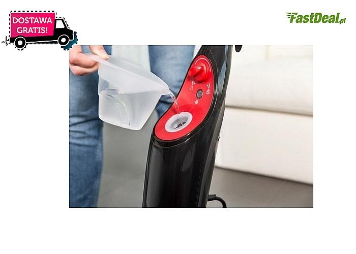 Mop parowy Viledy w szybki i higieniczny sposób wyczyści Twoje podłogi