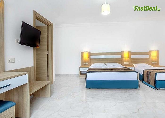 Słoneczna Turcja! Green Life Hotel! Alanya! Transport lotniczy! ALL INCLUSIVE! Basen! 200M od plaży!