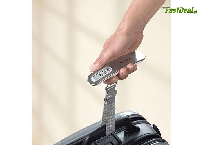 Waga elektroniczna Travel do ważenia walizek! Idealna podczas podróży! Najwyższa jakość!