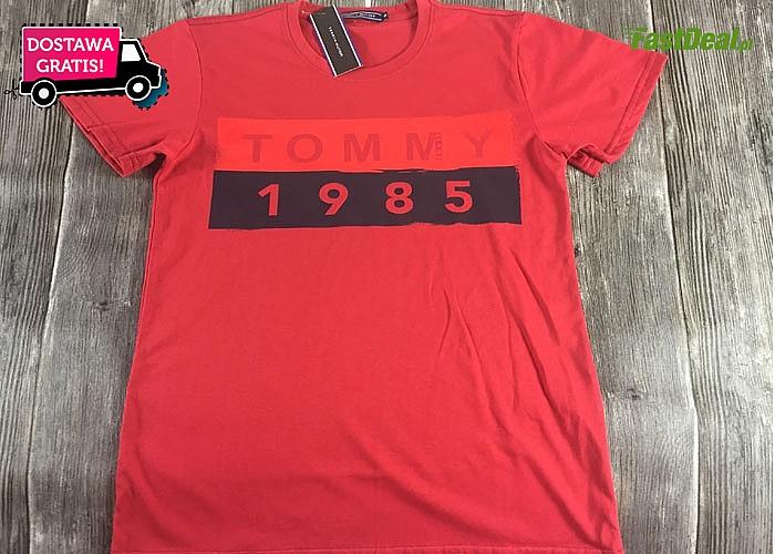 Poczuj się jak w 1985! ! Bluzka męska w stylu 80's! Doskonałe ułożenie loga!