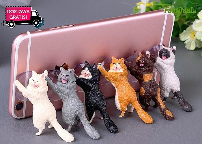 Super NOWOŚĆ !!! Uchwyt do telefonu w kształcie kota