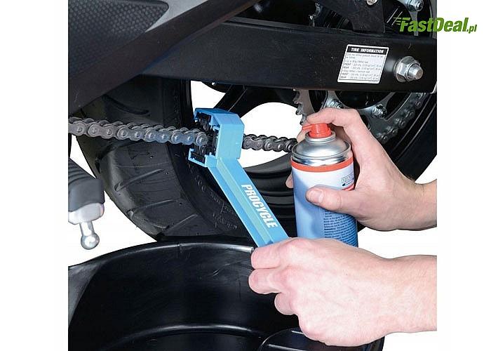 Zadbaj o swój pojazd! Szczotka do czyszczenia łańcucha rowerowego!