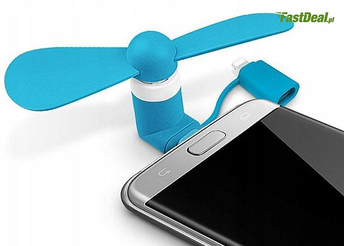 Wiatraczek do smartfonów Iphone! Mix kolorów!