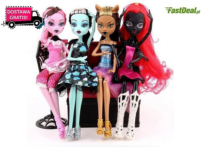 Lalka Monster High wywoła uśmiech na twarzy Twojego dziecka!