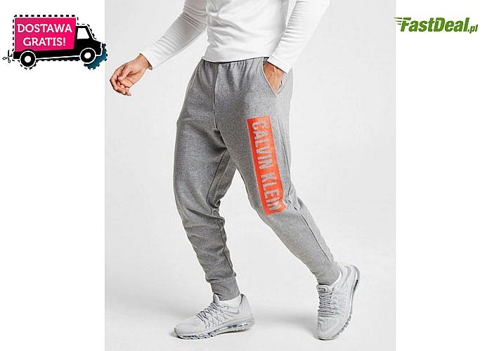 Dresowe spodnie męskie Calvin Klein! Doskonała jakość! Dwa kolory! Cztery rozmiary do wyboru!