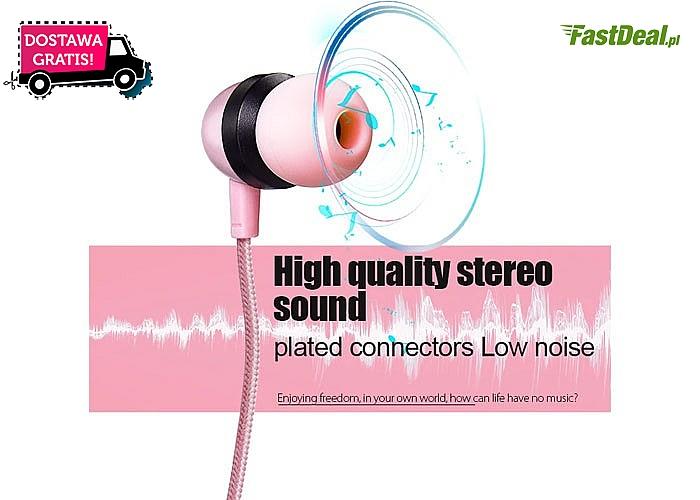 Wtyczki słuchawek idealnie dopasowują się do ucha! Oryginalny design!