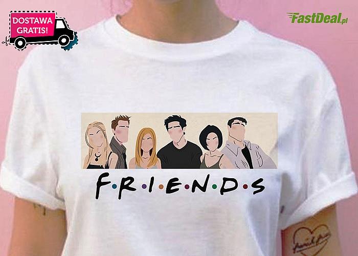Koszulka, którą pokocha każdy fan kultowego serialu Przyjaciele! Musisz ją mieć!