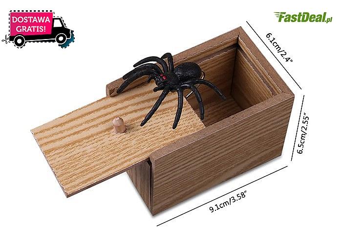 Wygląda jak zwykłe pudełko, a środek przestraszy nawet największych twardzieli!