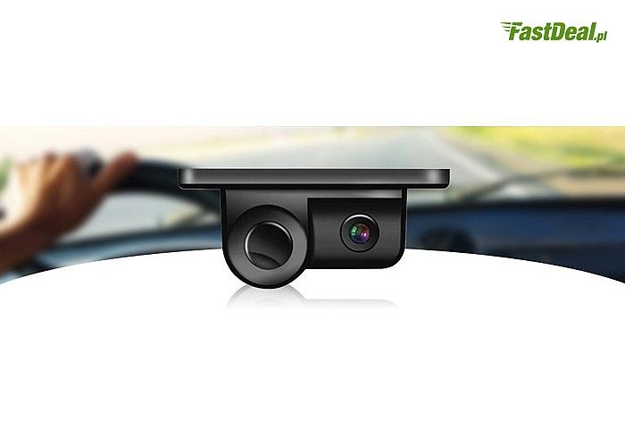 Kamera cofania z czujnikiem parkowania Vordon CP-2IN1! Wodoodporna i wstrząsoodporna! Kąt widzenia 170°