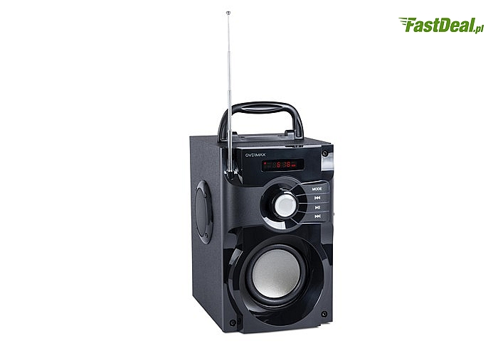 Do 9 godzin słuchania! Głośnik bezprzewodowy Bluetooth Soundbeat 2.0! Niesamowita jakość dźwięku!