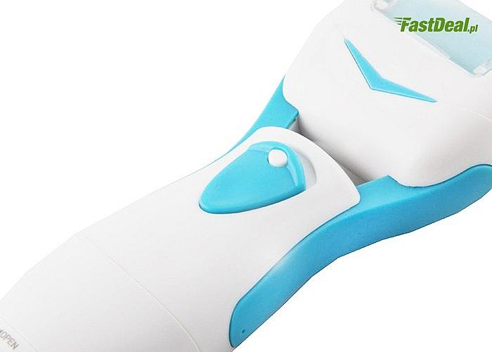 Twoje stopy jeszcze nigdy nie były tak gładkie! Elektryczna frezarka do stóp.