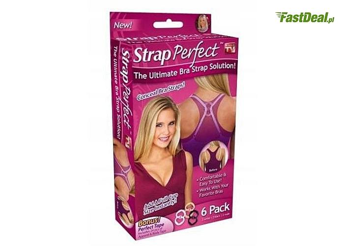 Niezbędnik w każdej damskiej garderobie! Zestaw klipsów do ramiączek stanika!