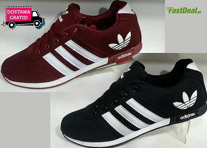 Oryginalne buty Adidas! Dopełnij swój sportowy look! Doskonałe wykonanie! Ponadczasowy styl!