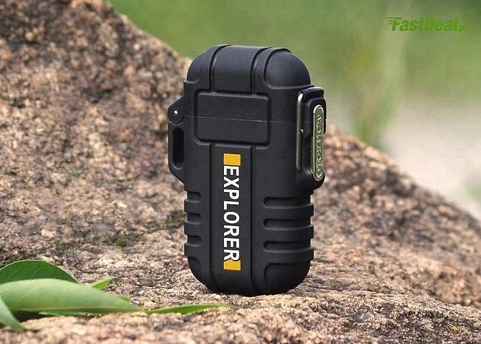 Ultranowoczesna, wodoodporna zapalniczka plazmowa z akumulatorem, ładowana przez port USB