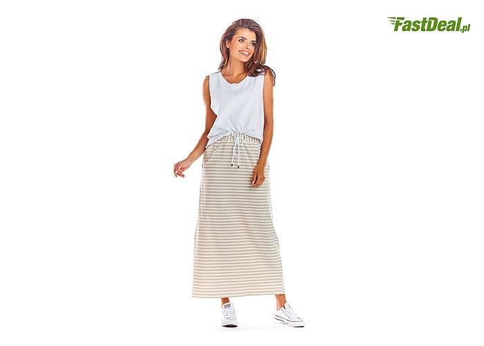 Długa, letnia spódnica w modnych kolorach.! Najwyższa jakość wykonania! Modny fason!