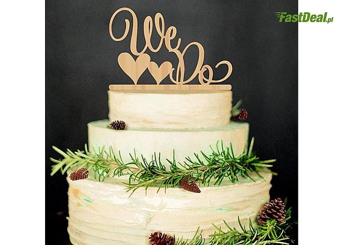 Topper z pewnością odmieni oblicze Twojego tortu czy kwiatów