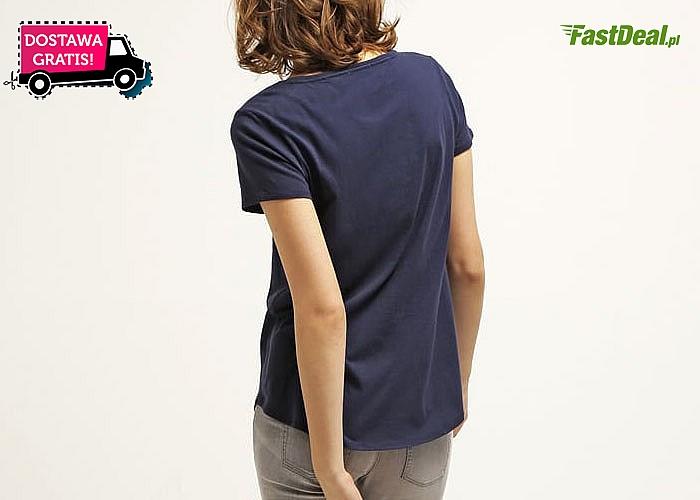 MUST-HAVE! Klasyczny, damski t-shirt TOMMY HILFINGER!