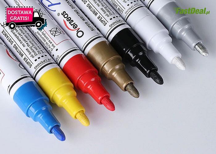 Rewelacja! Wodoodporne markery do opon -  różne kolory!