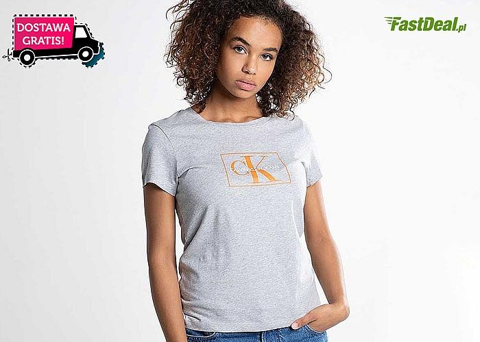 Logo znane na całym świecie! Bluzka damska Calvin Klein! 3 kolory! Doskonała jakość!