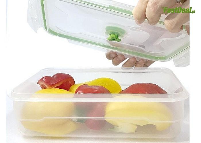 Zestaw pojemników próżniowych serii FLAVIA! Zachowaj na dłużej świeżość przechowywanej żywności!