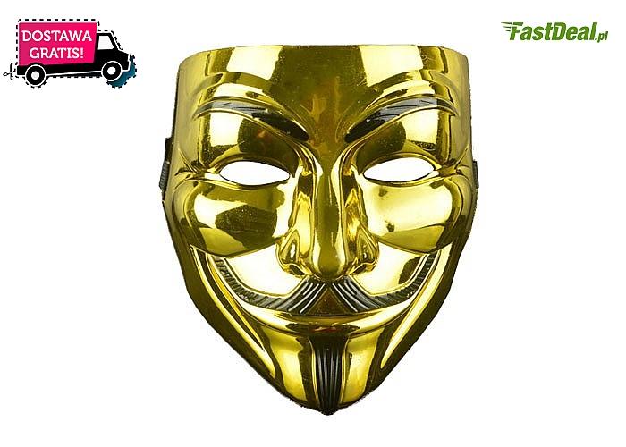 Vendetta? Anonymous? Kultowa maska może być Twoja!