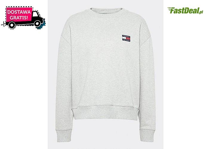 Sportowa bawełniana bluza damska od Tommy Hilfiger. 5 kolorów do wyboru