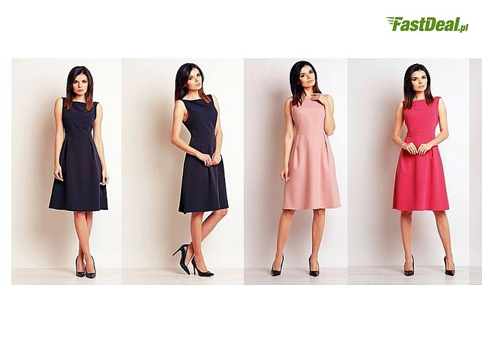 Sukienki eleganckie i kobiece. Piękne, klasyczne wzornictwo