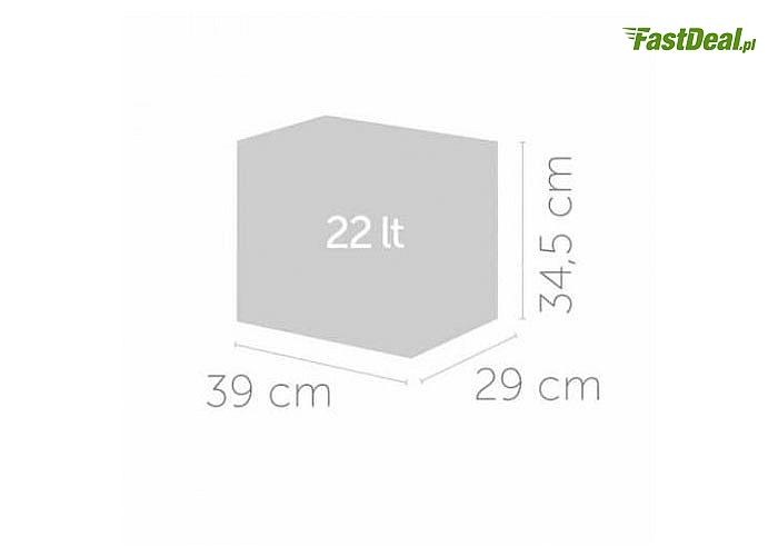 ECOCUBES! Pojemny i ekologiczny pojemnik do selektywnej zbiórki odpadów! 22 litry! 4 kolory!