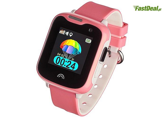 Smartwatch Garett Kids Sweet!3 kolory! GPS! Wytrzymały i prosty w obsłudze!