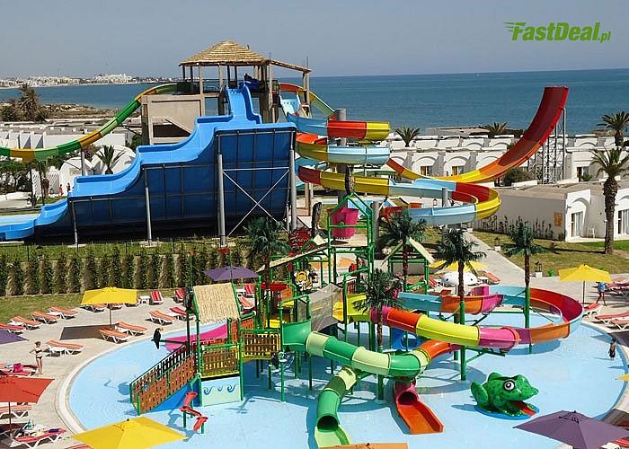 Bajeczne wakacje na wyciągnięcie ręki! Thalassa Sousse Resort & Aquapark w gorącej Tunezji!