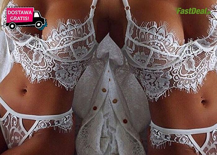 Przepiękna, zmysłowa bielizna- otul swoje ciało delikatną  koronką!