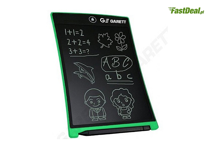 Tablet LCD Garett Tab! Elektroniczna alternatywa dla notatników, szkicowników, kartek do pisania! Rysik w zestawie!