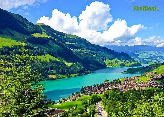 Szwajcaria- ogromne piękno w miniaturze! Kolej Berneńska, przełom Renu i wiele innych, niesamowitych atrakcji!