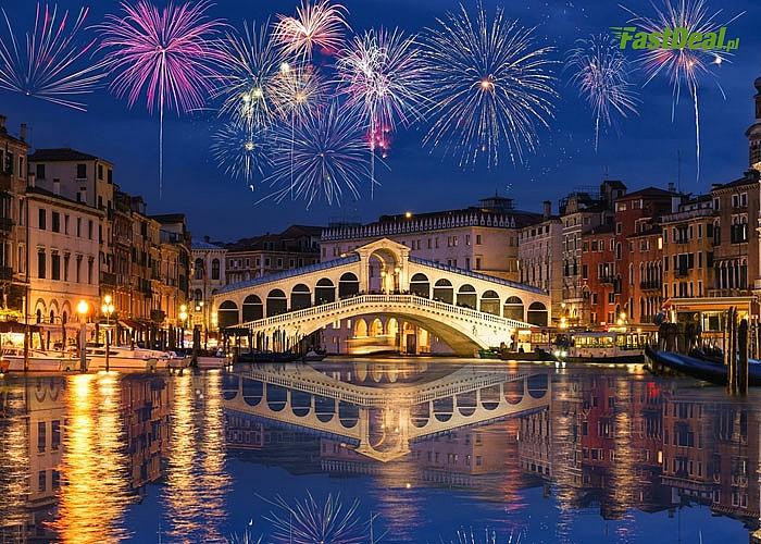 Sylwester w Wenecji z noclegiem! Powitaj Nowy Rok we Włoszech! Wycieczka autokarowa z noclegiem i opieką pilota