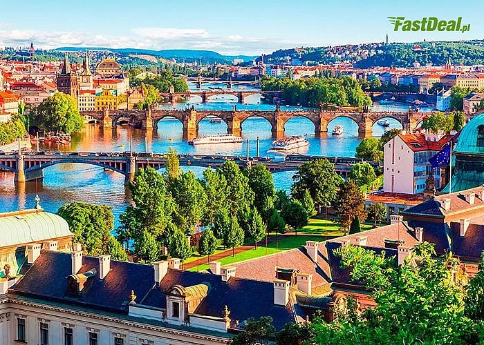 3- dniowa wycieczka do czeskiej Pragi! W programie przejazd autokarem, zwiedzanie z pilotem, rejs po Wełtawie.