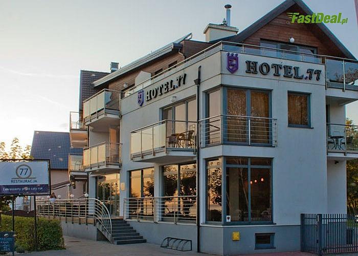 Zimowe ferie w Chałupach! Pobyty w Hotelu 77 z atrakcjami dla najmłodszych i rodzinnymi seansami w strefie SPA!