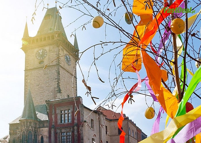 Wyjazd na Jarmark Wielkanocny w stolicy Czech. Zwiedzanie Pragi. Udział w Jarmarku na Placu Wacława.