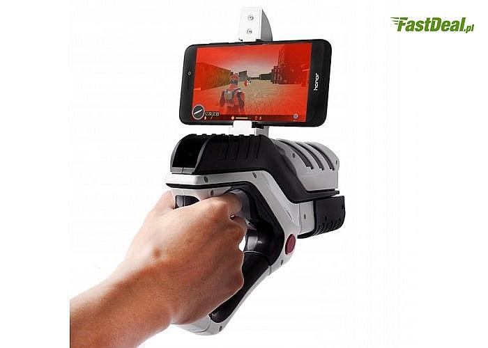 Pistolet do gier AR-VR! Wykorzystuje rozszerzoną rzeczywistość!