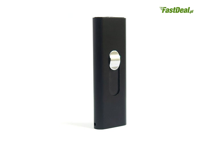 Wysokiej jakości dyktafon cyfrowy w kształcie mini pendrive z wbudowaną pamięcią wewnętrzną 4GB.